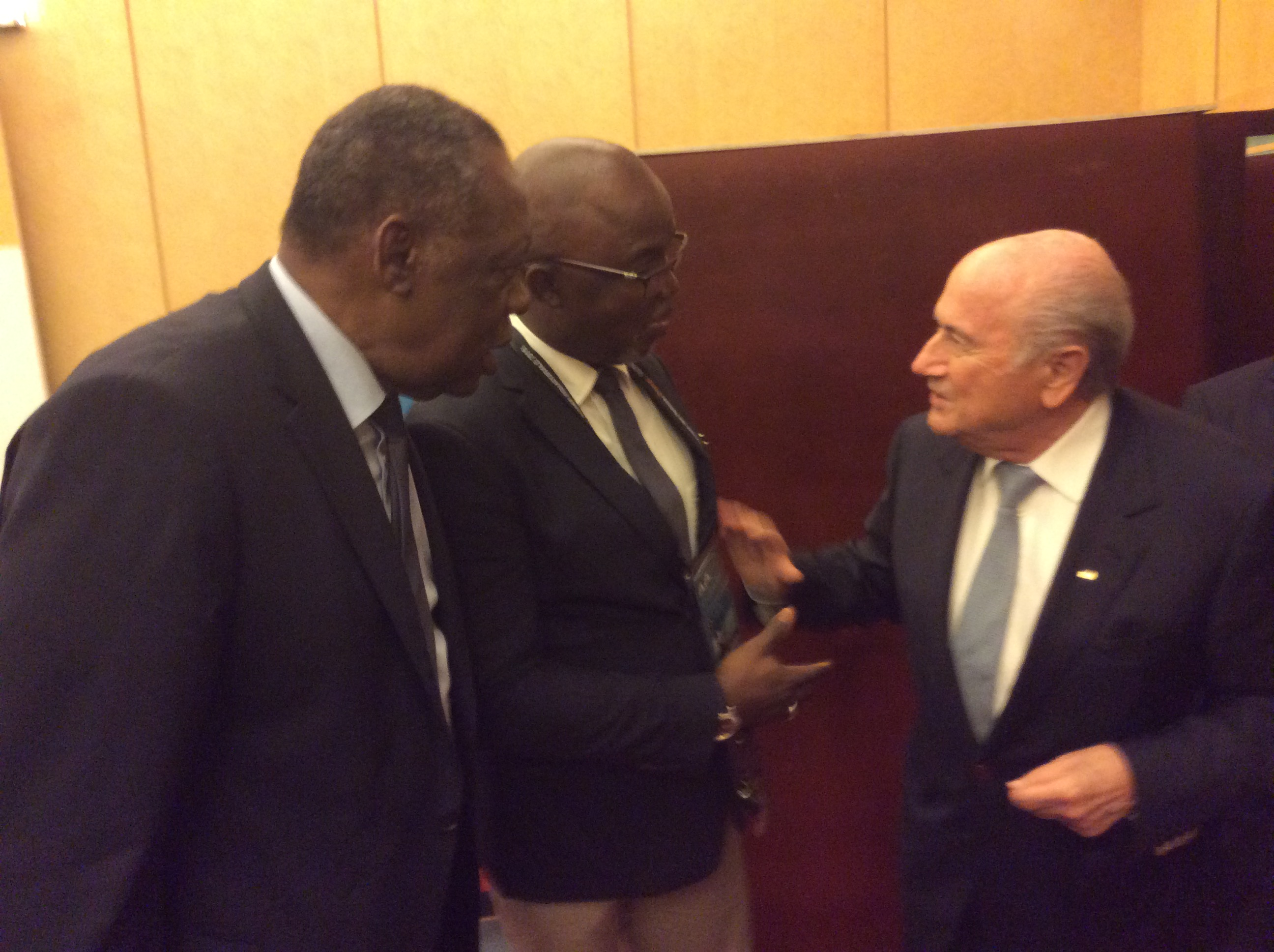 Blatter to host Pinnick at Home of FIFA