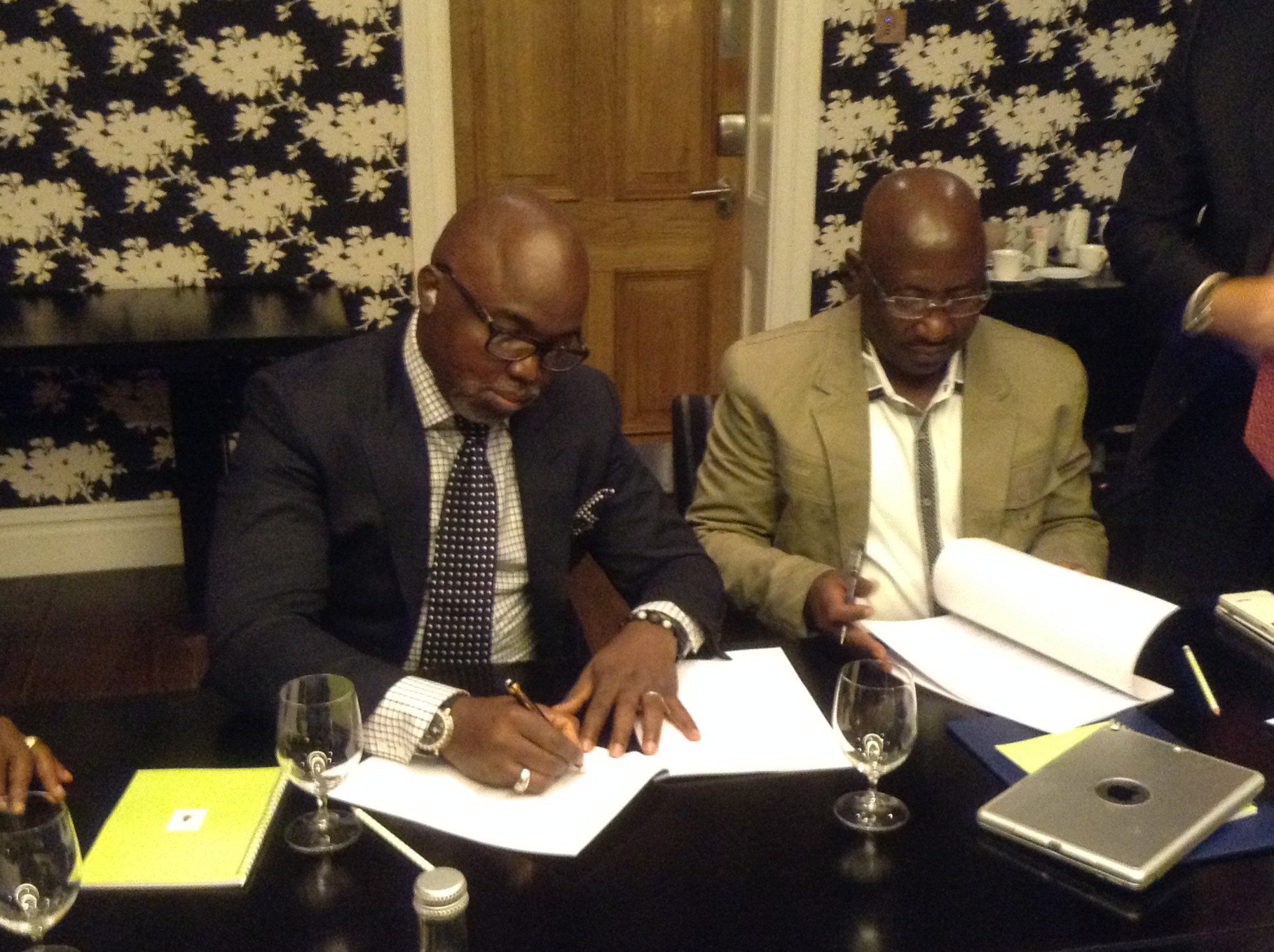 NIKE PARTNERS WITH THE NIGERIA FOOTBALL FEDERATION.