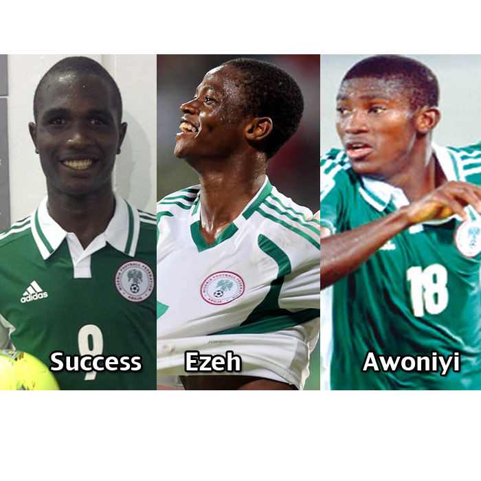 Who Should lead Flying Eagles' Attack; Gangling Awoniyi, Prolific Success or Sleeky Ezeh ?