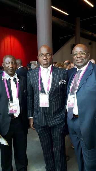 Pinnick leads NFF delegation to FIFA Congress