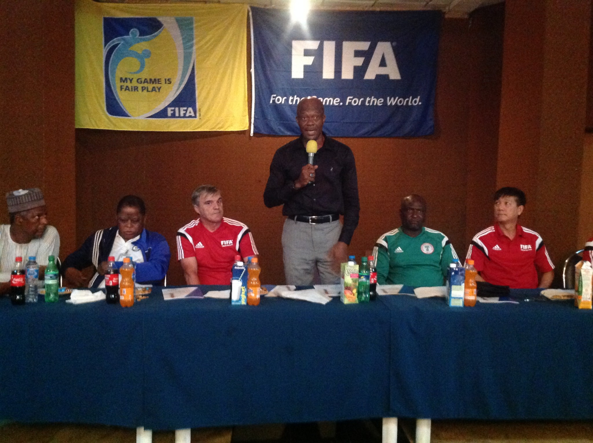 FIFA official challenges Nigerian referees
