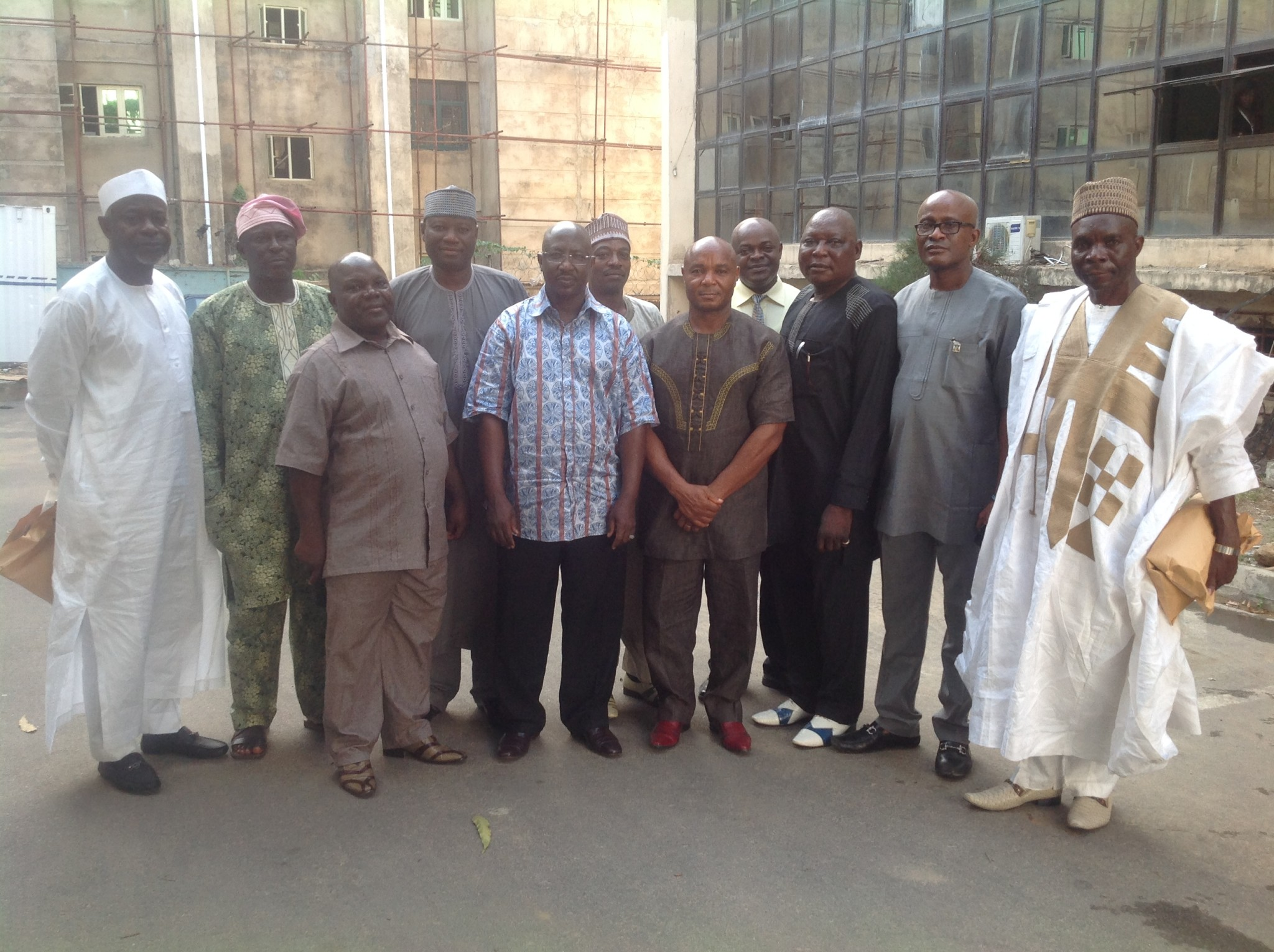 Sports Directors felicitate with Sanusi, applauds NFF Board
