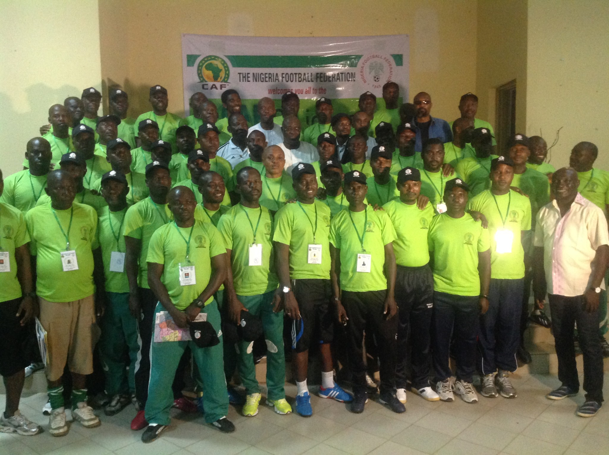 NFF promises regular courses for coaches