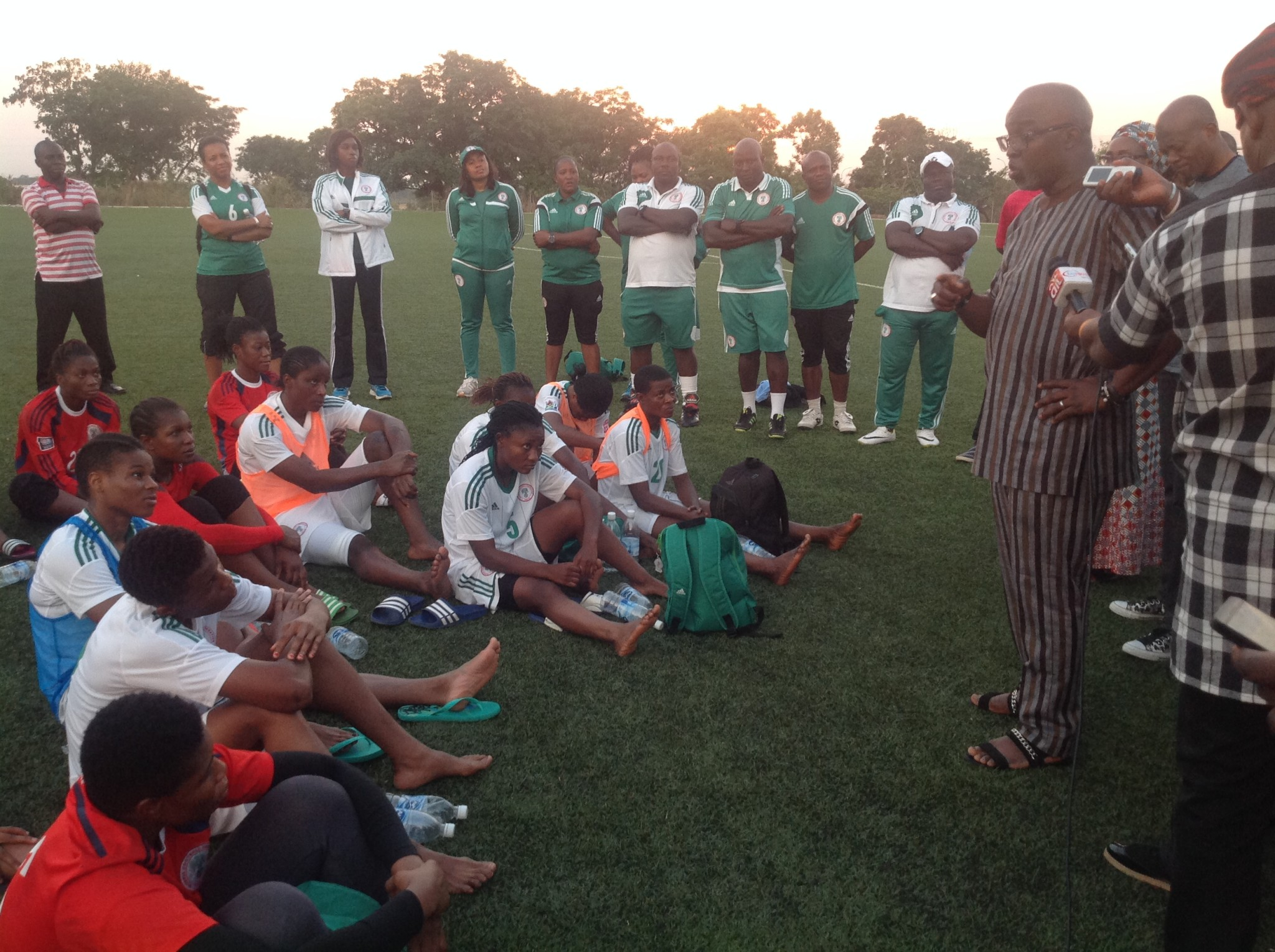 Pinnick pumps up Falcons' spirit with N.08Billion incentive