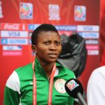 Falcons' skipper, Evelyn Nwabuoku