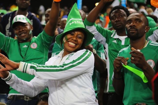 Super Eagles meet with Fans and Media