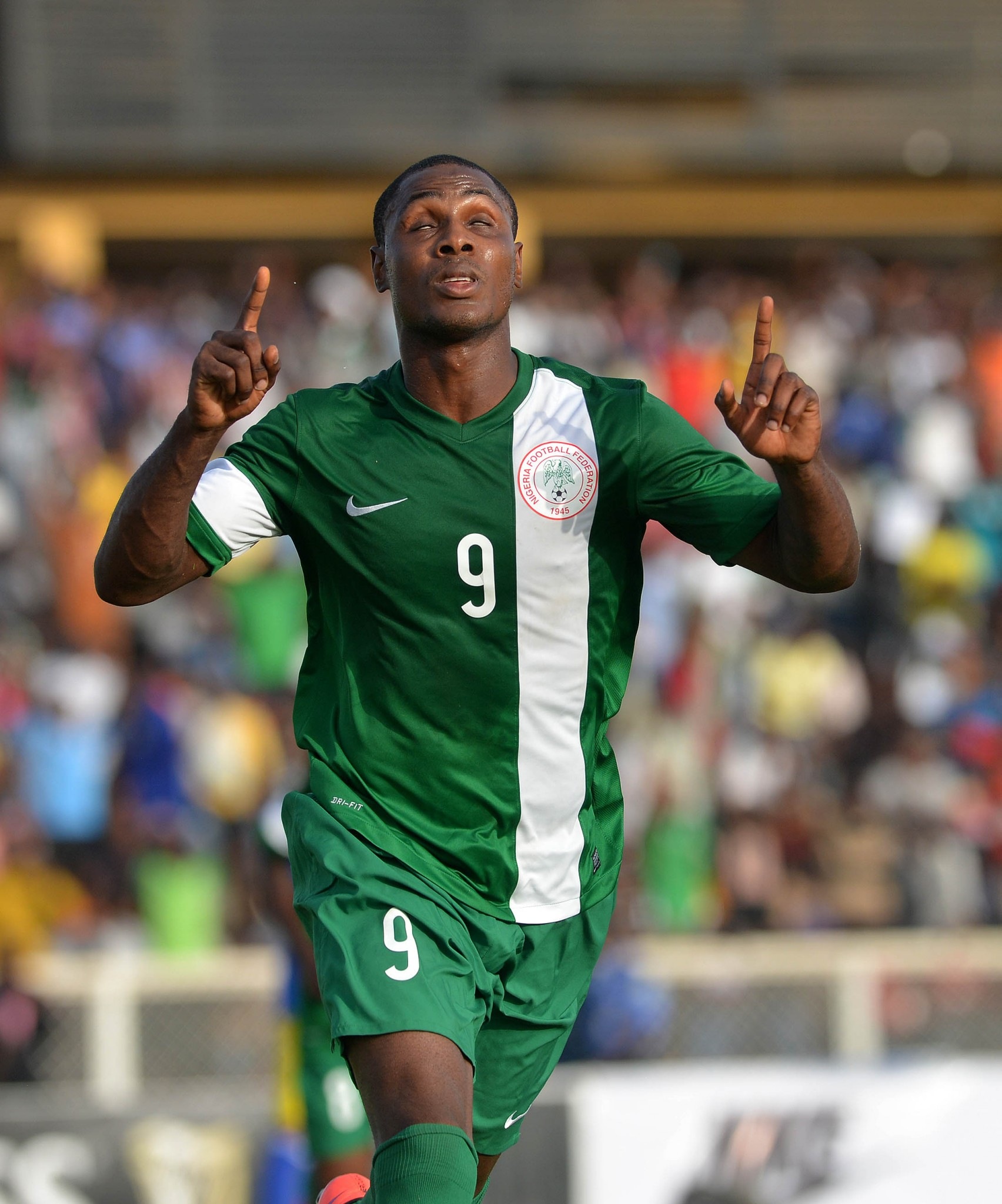 Ighalo heads Player of the Month race