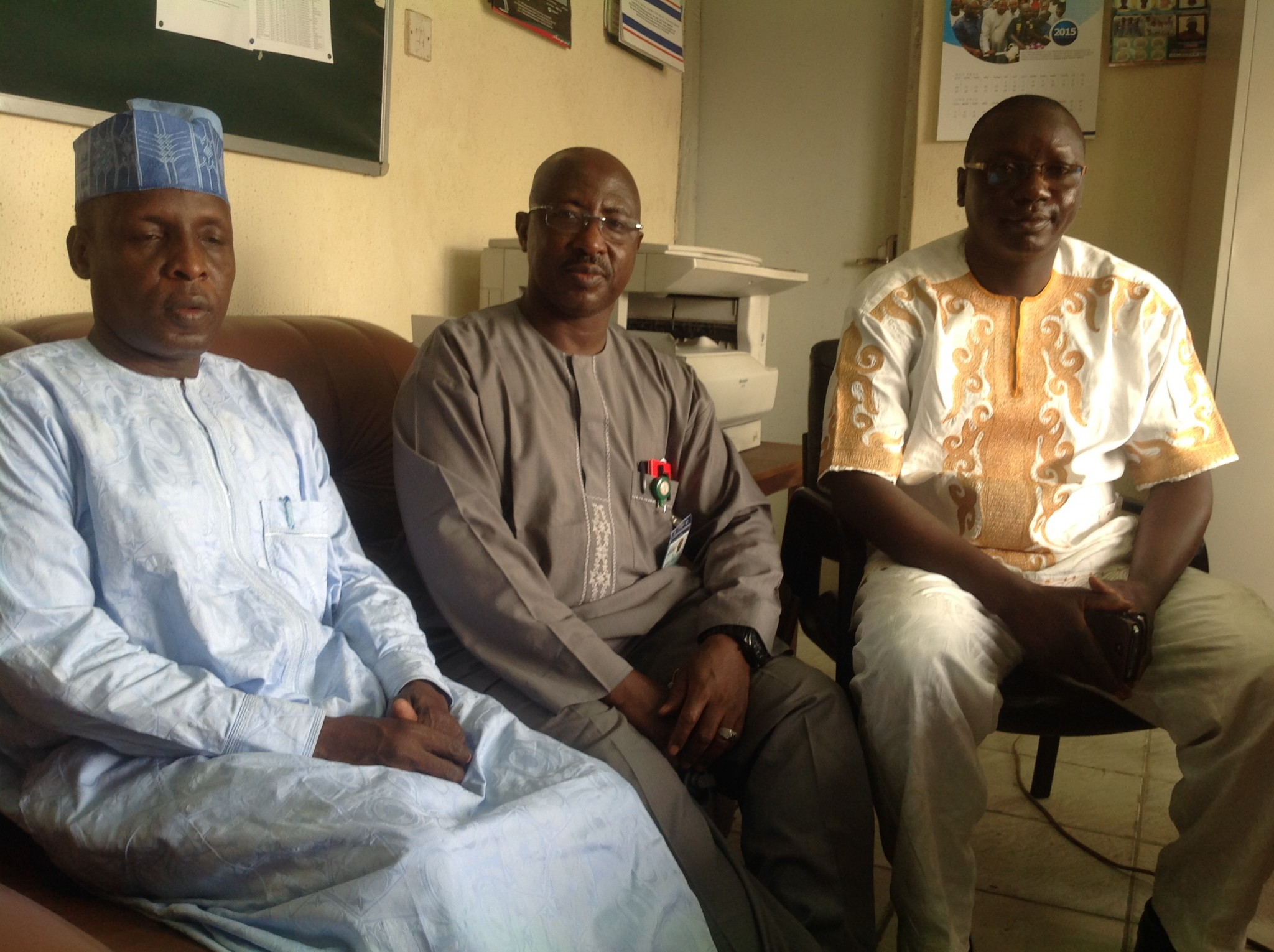 NFF assures Chadian delegation of adequate security
