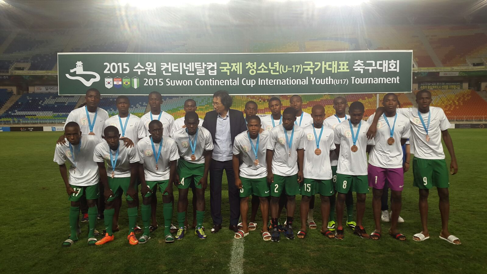 Eaglets finish third in Suwon