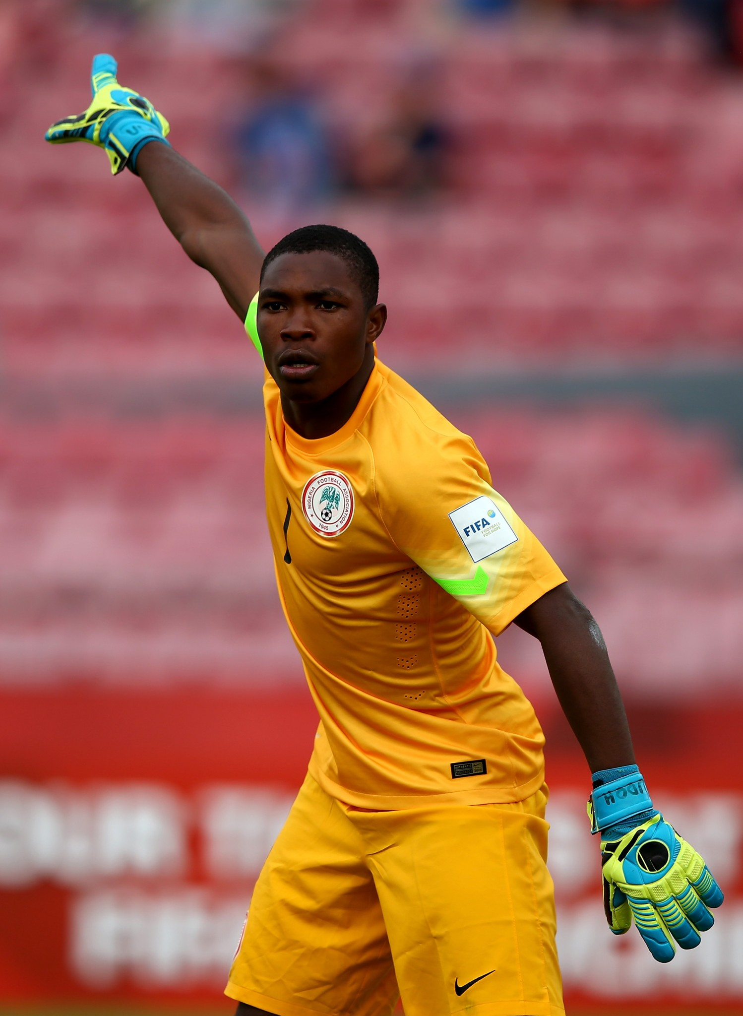 Amadi hails Udoh despite Golden Gloves miss