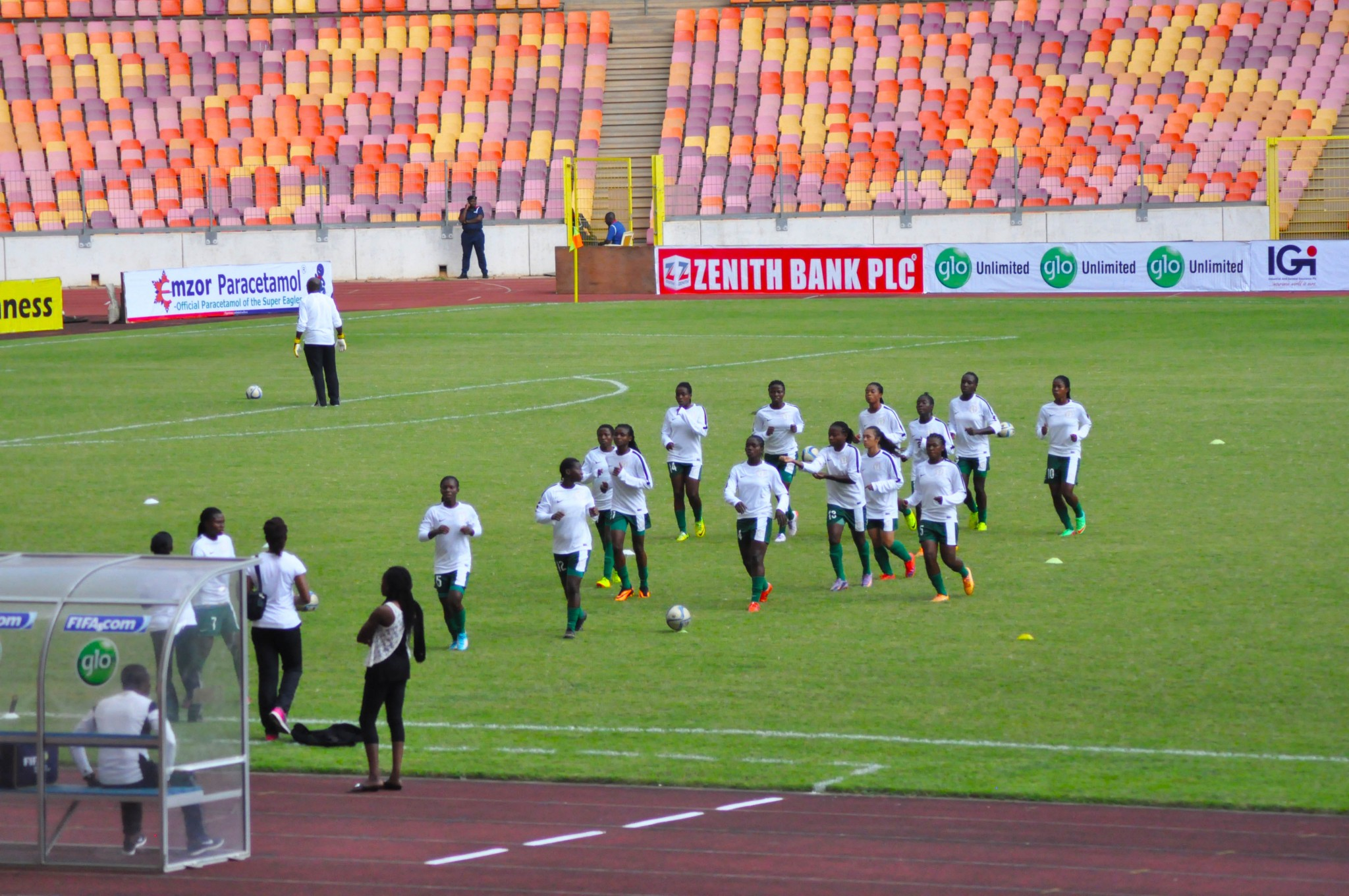 World Cup Qualifier: Falconets storm camp for Burkinabes