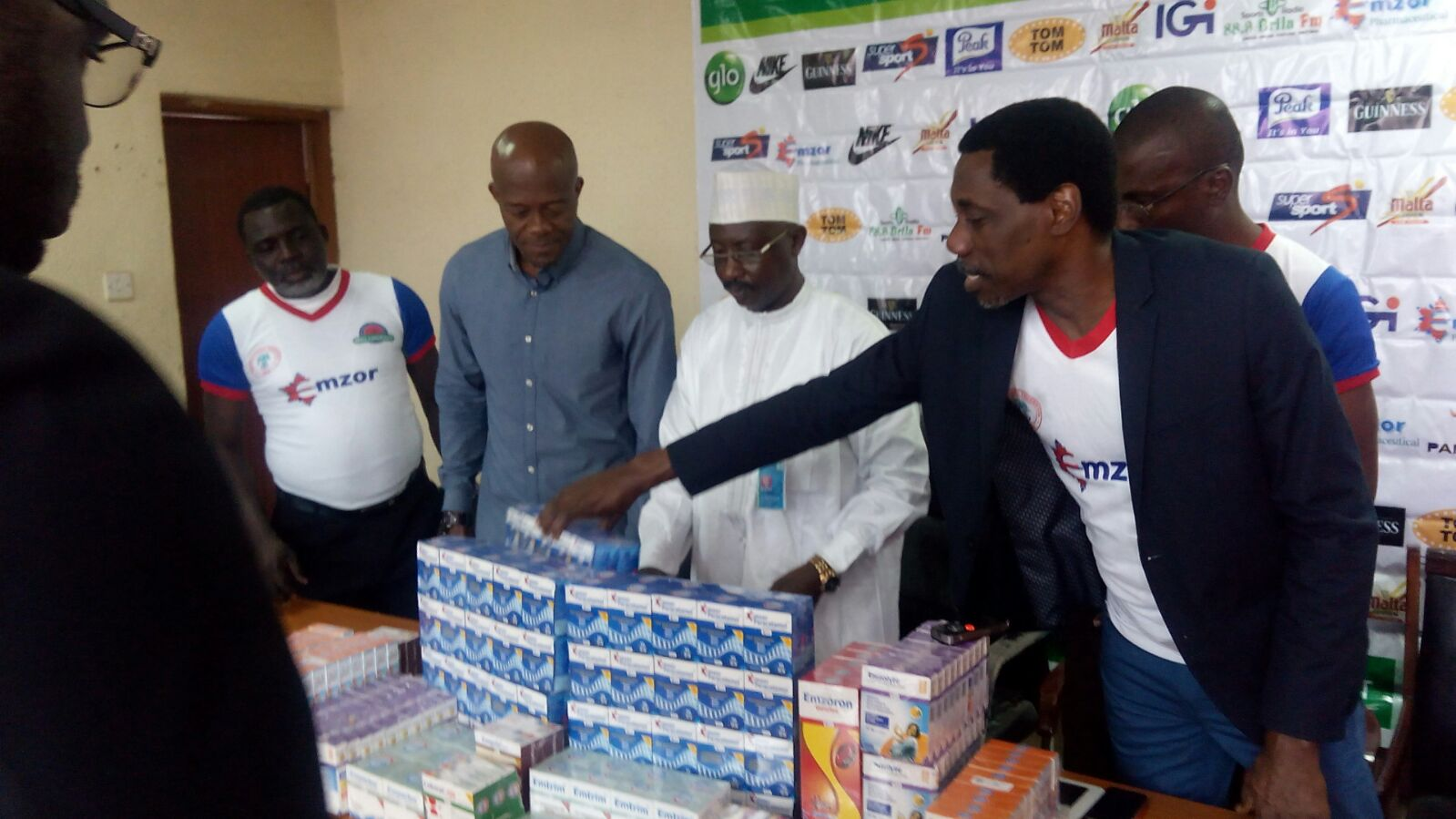 Emzor Presents Products To NFF
