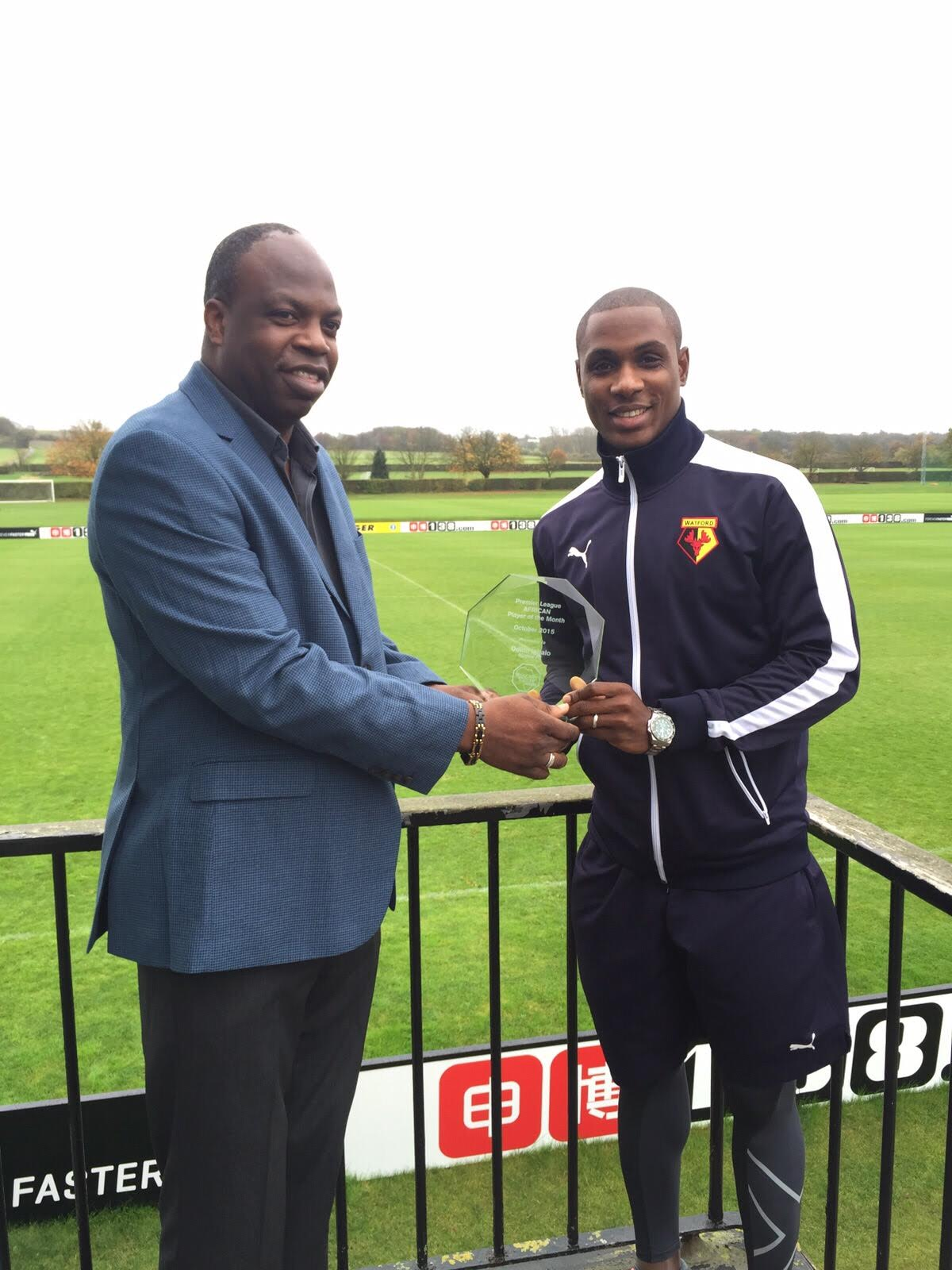 Ighalo wins October Award