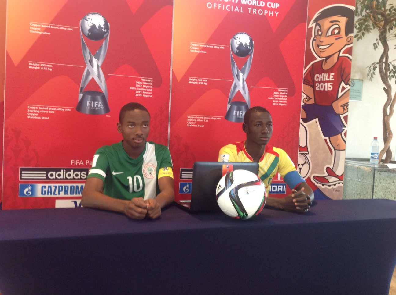 Nwakali, Osimhen preview final for FIFA