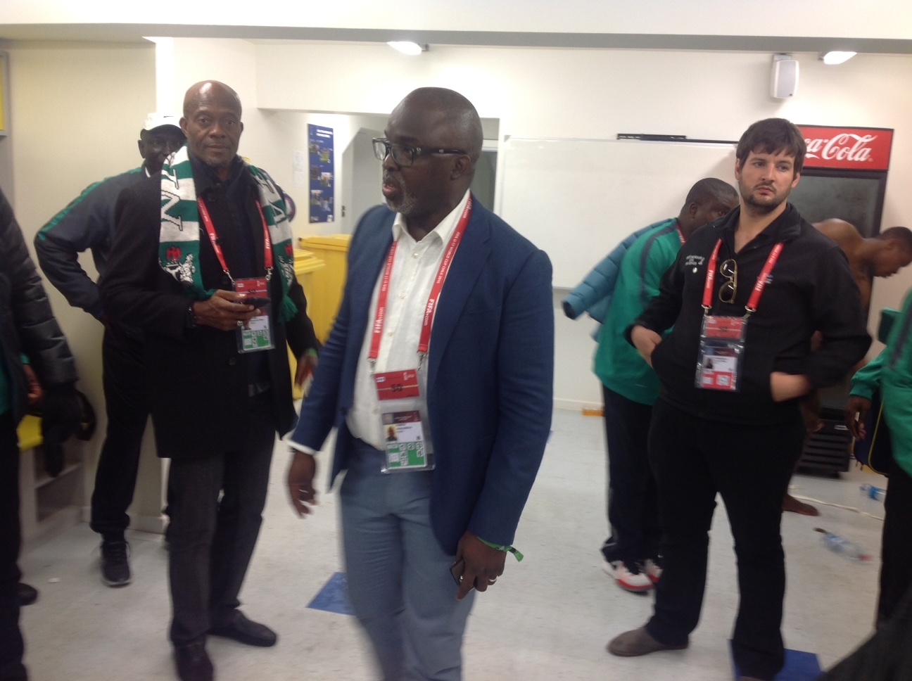 Pinnick Challenges Eaglets To Go For Cup