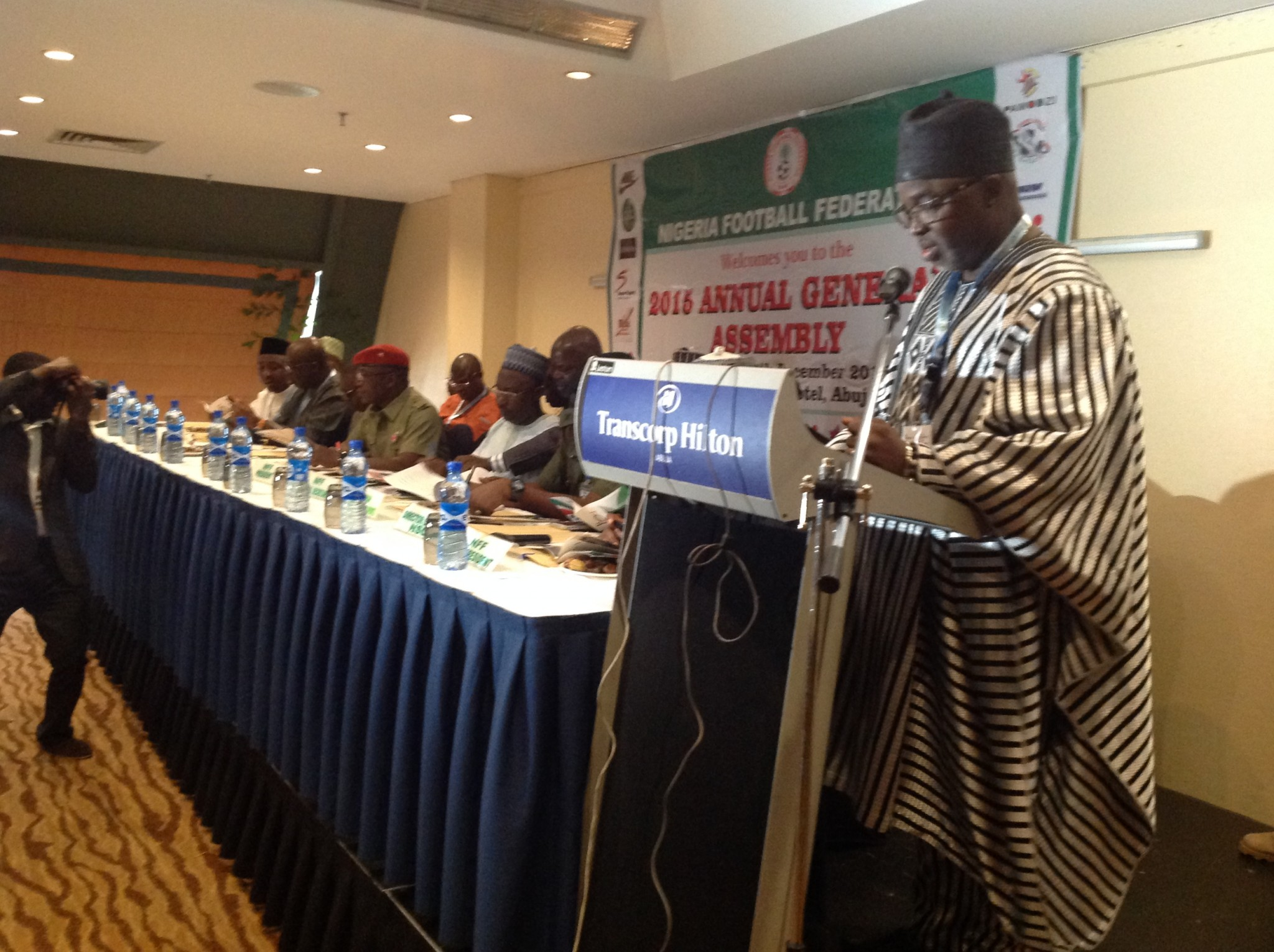 COMMUNIQUE OF THE 71ST ANNUAL GENERAL ASSEMBLY OF NIGERIA FOOTBALL FEDERATION
