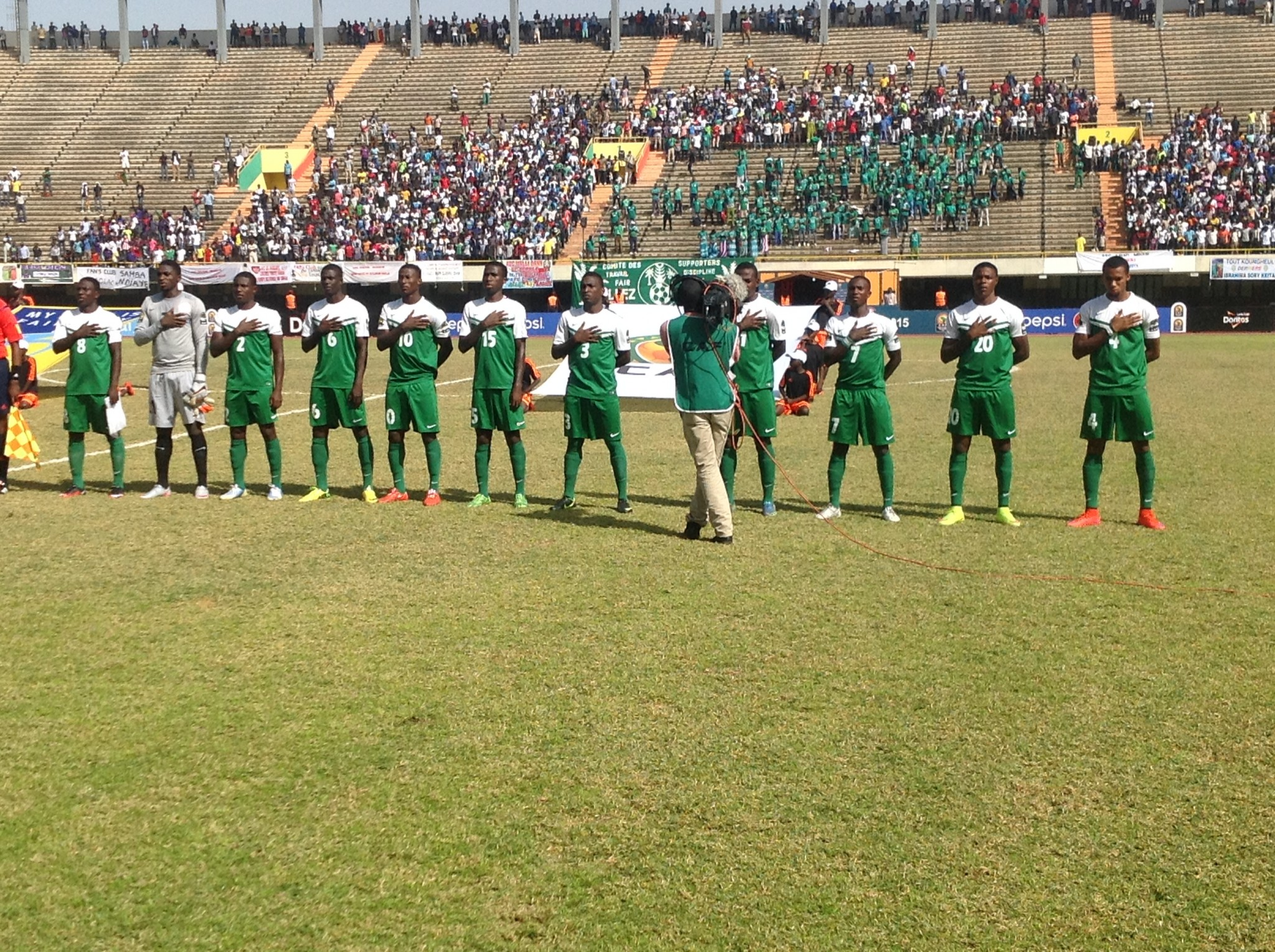 Nigeria qualify for 2016 Olympics