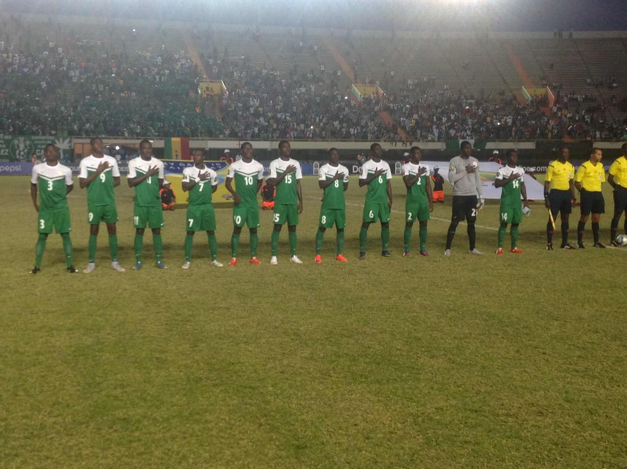 Pinnick ecstatic as Dream Team lifts U-23 Afcon trophy