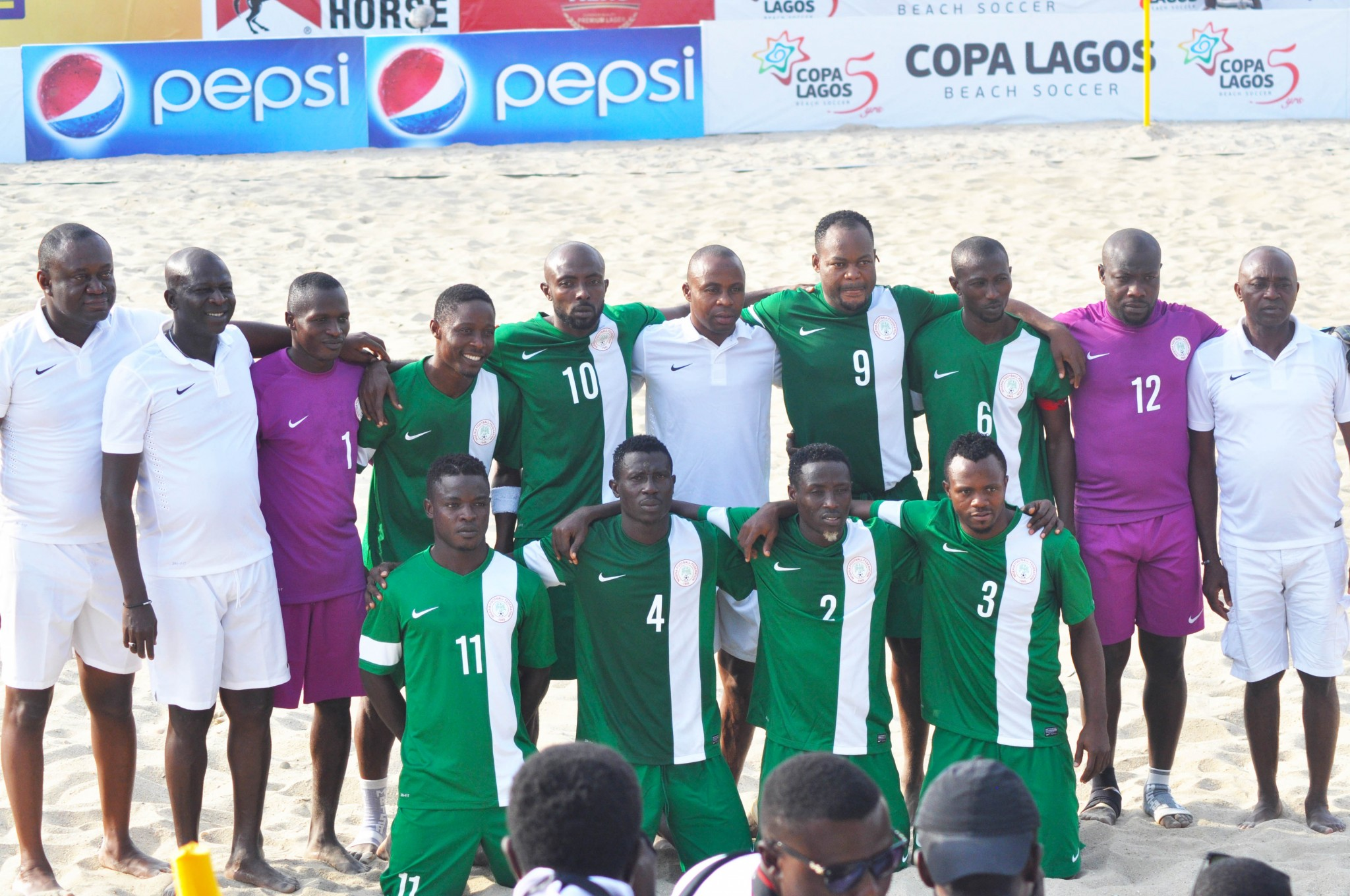 Pinnick hails Supersand Eagles spirit