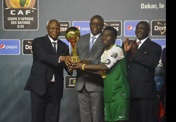 Okechukwu Azubuike is CAF U-23 Africa Cup of Nations MVP!