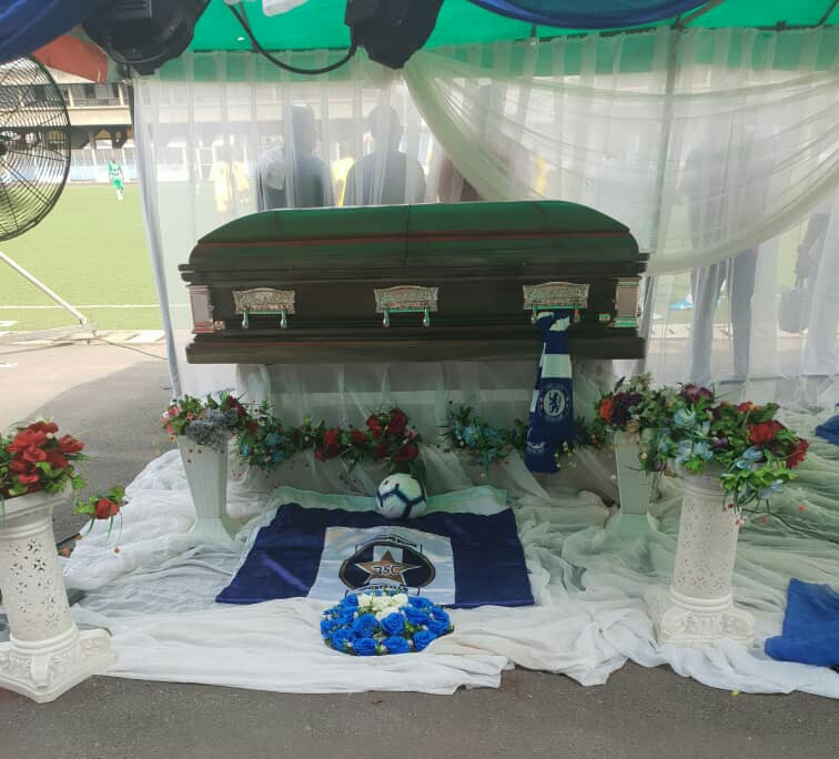 Pomp, as Nigerian Football bids Ogunjobi final farewell