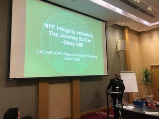 France 2019: FIFA, CAF hold integrity workshop in Cairo