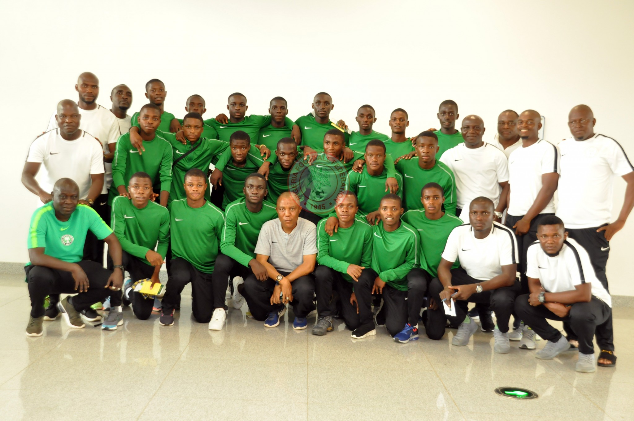 Golden Eaglets off to Tanzania for U17 AFCON