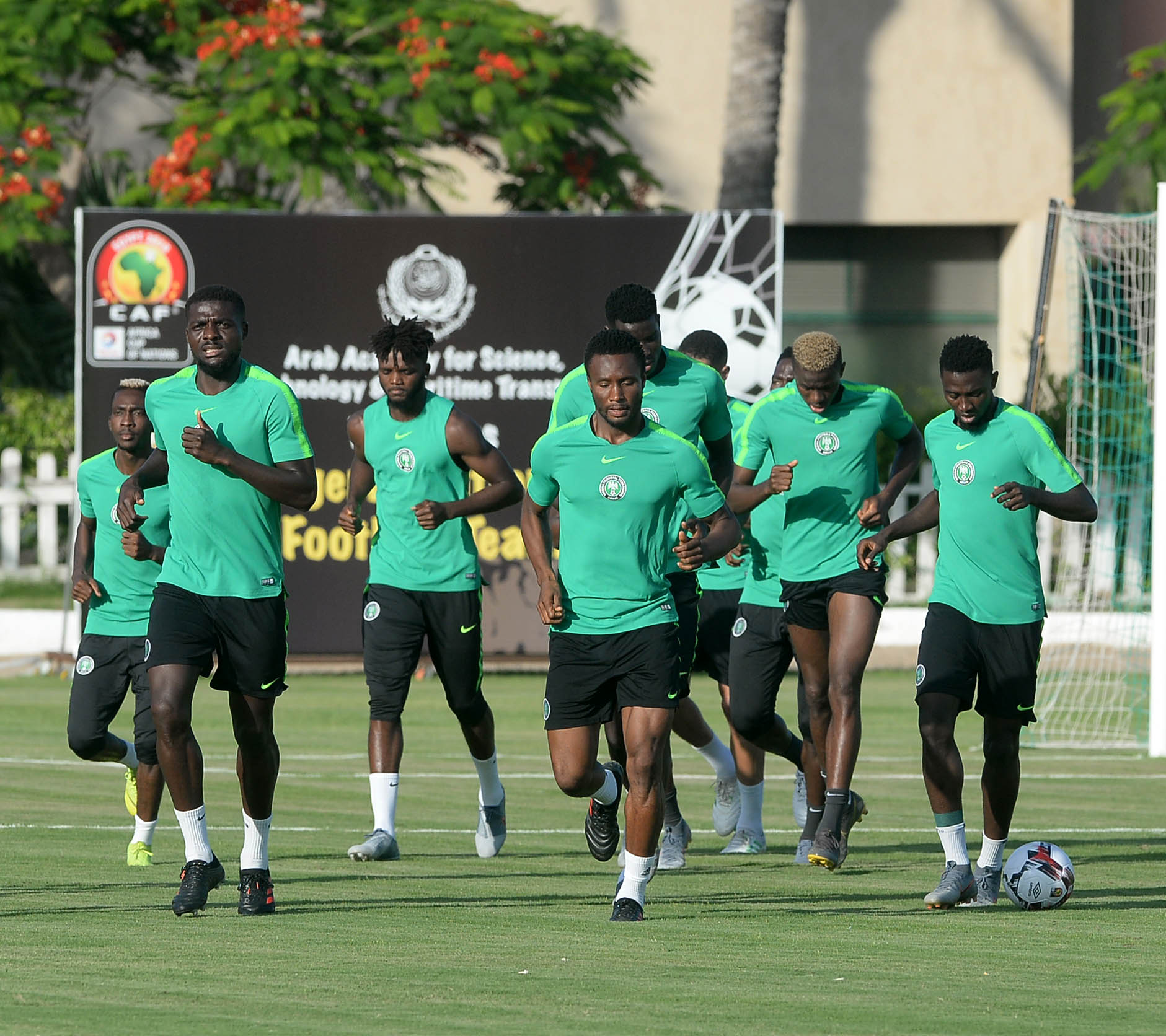 Nigeria first to reach AFCON 2019 Round of 16