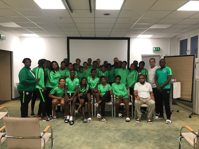 NFF official briefs Super Falcons on integrity variables