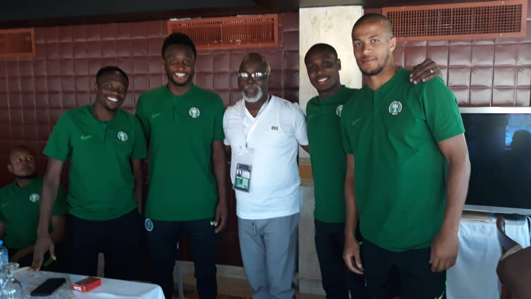 Pinnick charges Eagles to go for AFCON trophy
