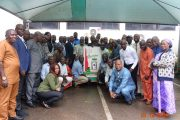 NFF Management, Staff celebrate General Secretary, Sanusi