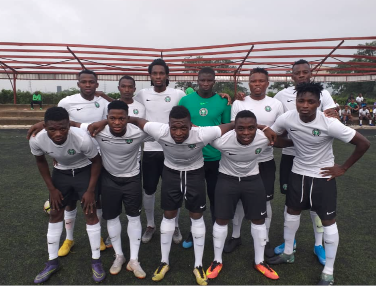 Olympic Eagles step up preparation for Sudan