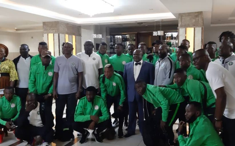 Ambassador charges Eagles to fly over Sparrow Hawks