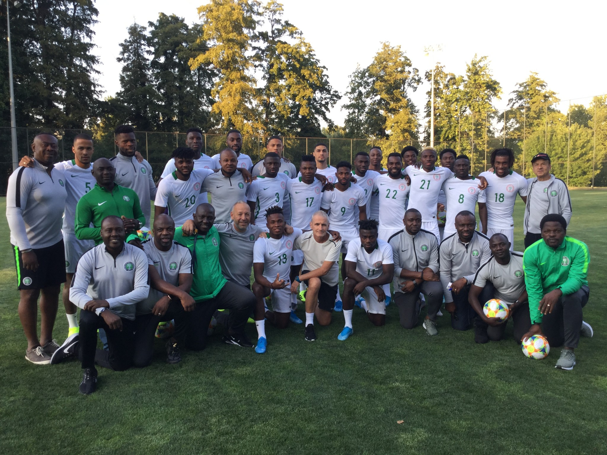 'New' Eagles seek to make a point against Ukraine