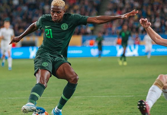 Friendly: Ukraine force 'new' Super Eagles to 2-2 draw