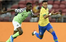 Brazil force Nigeria to 1-1 draw in Singapore