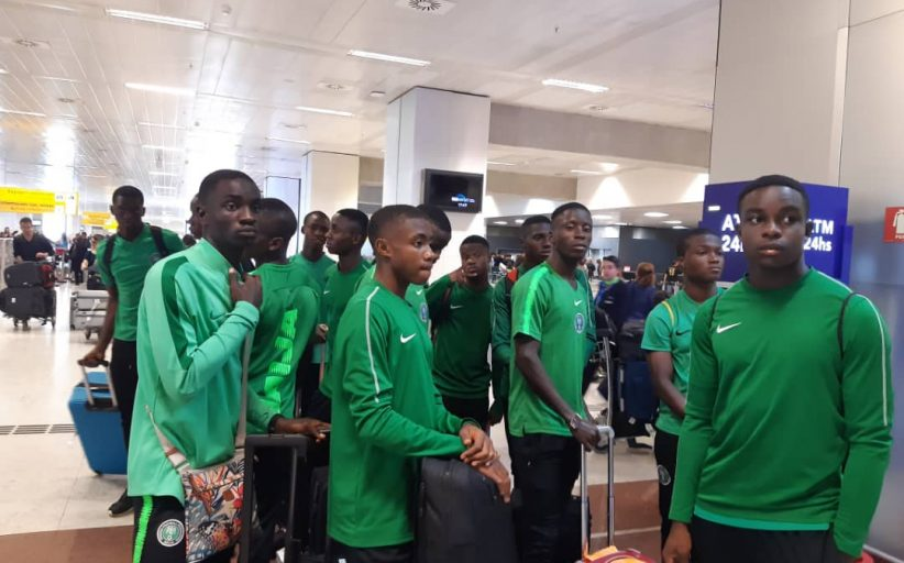 Brazil, Nigeria clash again as Eaglets tackle Sao Paulo FC in friendly