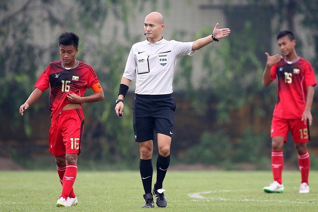 Jansen Foo to referee Brazil, Nigeria friendly