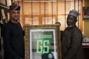 Authentic Nigeria Football Supporters Club honours NFF General Secretary, Sanusi
