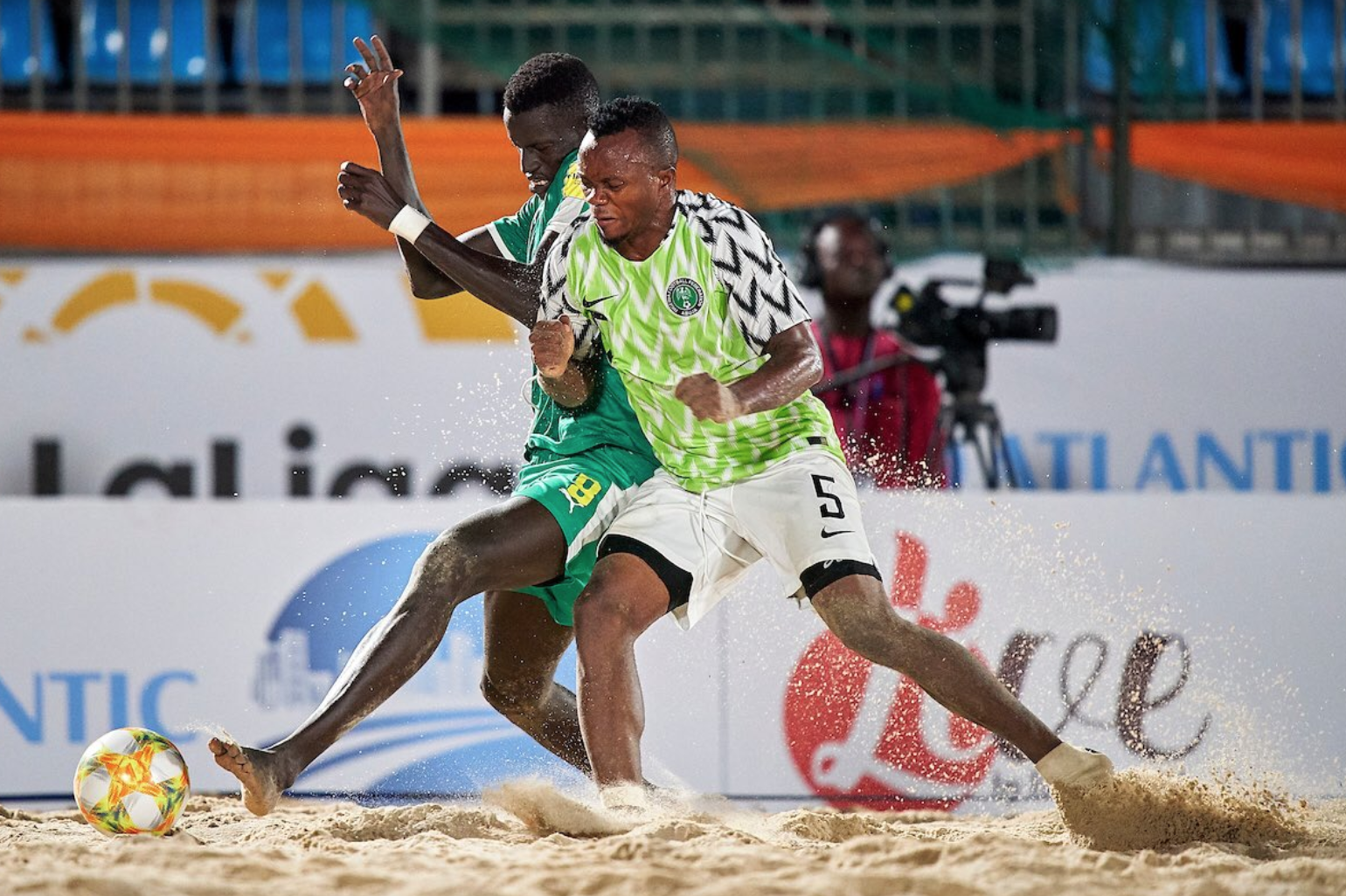 Supersand Eagles off to FIFA Beach Soccer World Cup
