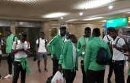 Olympic Eagles touch down in Egypt for Afcon U23 as Izuchukwu, Enobakhare join team