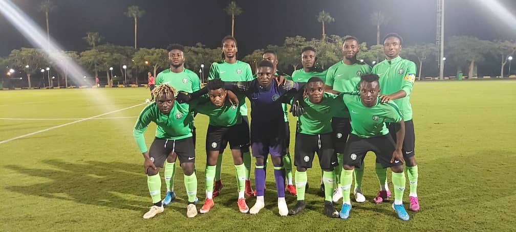 Olympic Eagles play 0-0 draw with Cameroon in a Pre - Afcon U23 test game