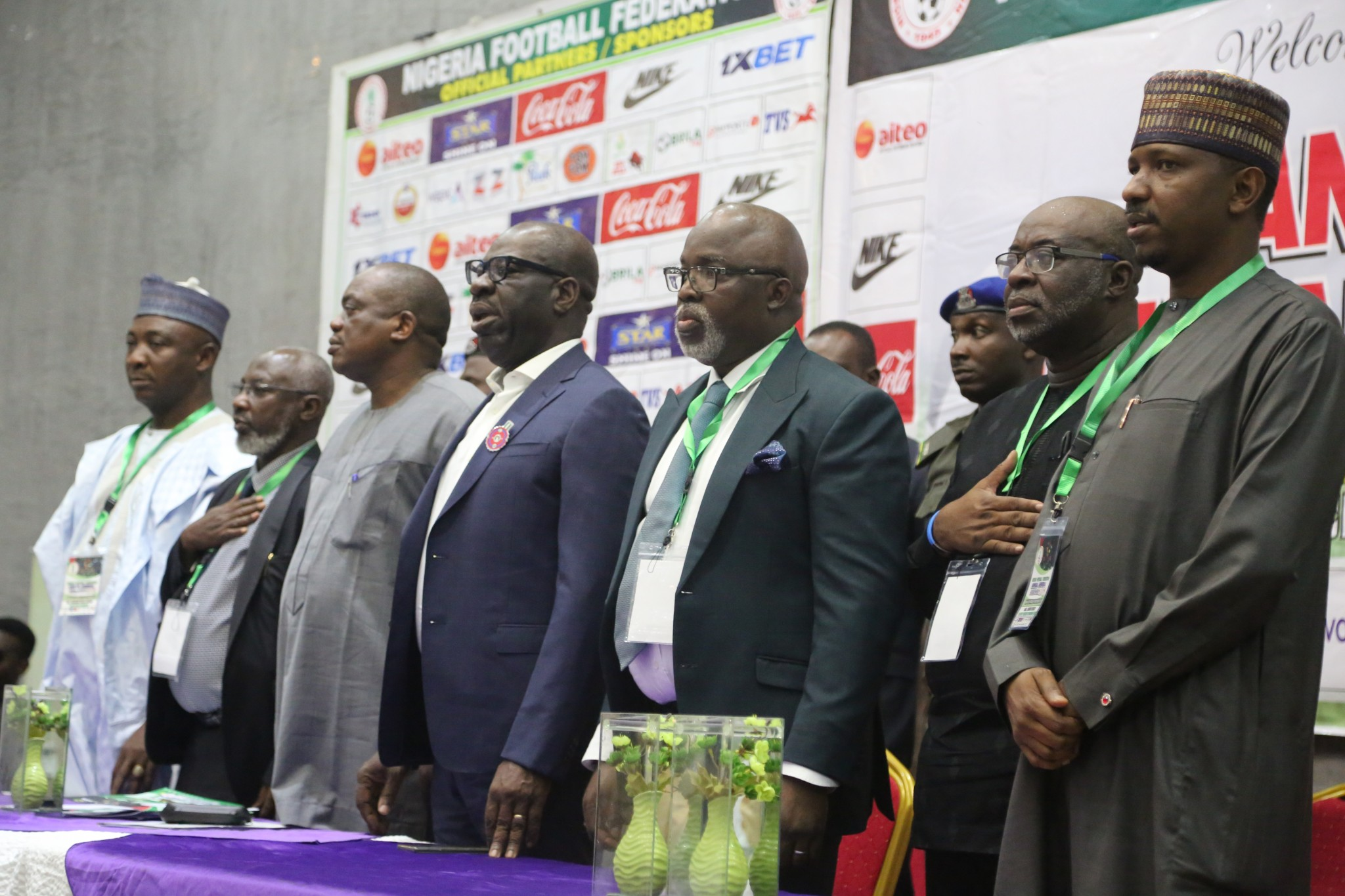 COMMUNIQUE OF THE 75TH ANNUAL GENERAL ASSEMBLY OF THE NIGERIA FOOTBALL FEDERATION HELD AT THE EDO HERITAGE HOTEL & SUITES, BENIN CITY ON TUESDAY, 17TH DECEMBER, 2019