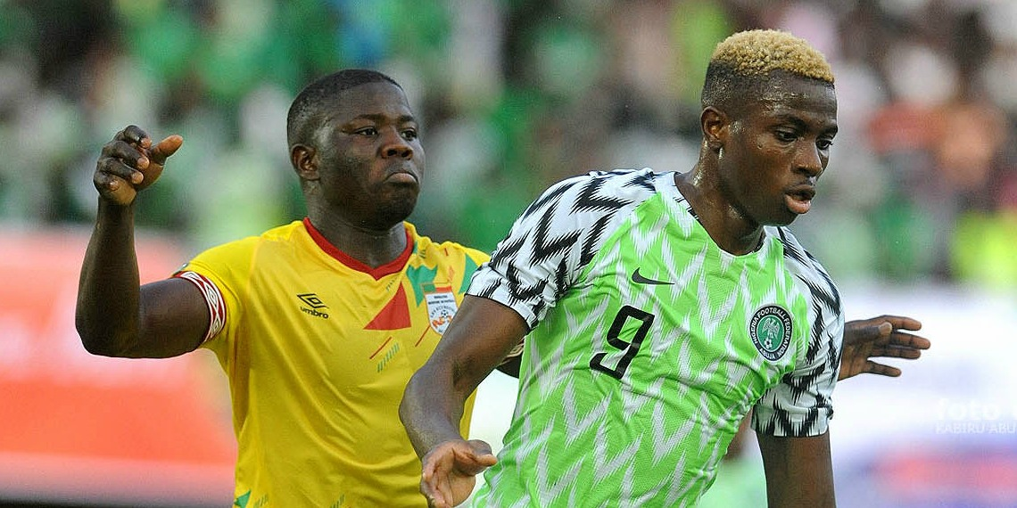 NFF sympathises with Osimhen as Super Eagle loses dad