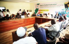 NFF inducts newly appointed National team coaches