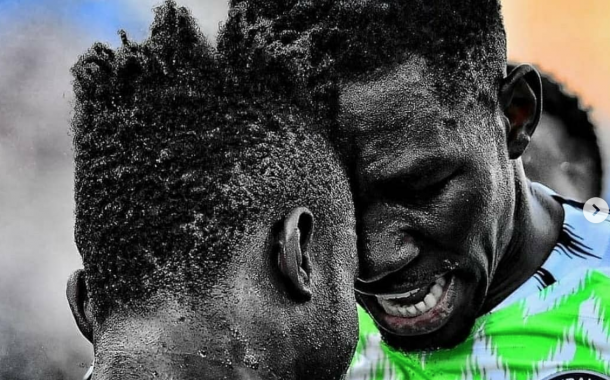 Friendlies: 'Old Boys' Omeruo and Simon among early birds in Super Eagles' camp