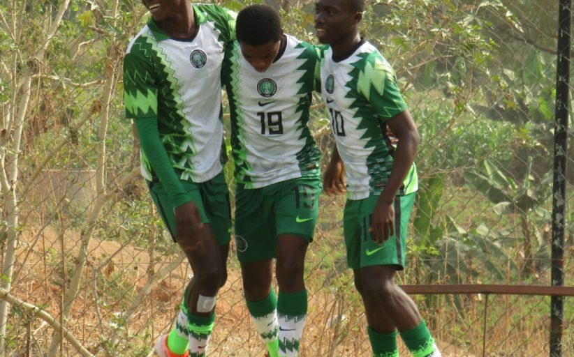 Eaglets whitewash Emy Football Academy 7-0