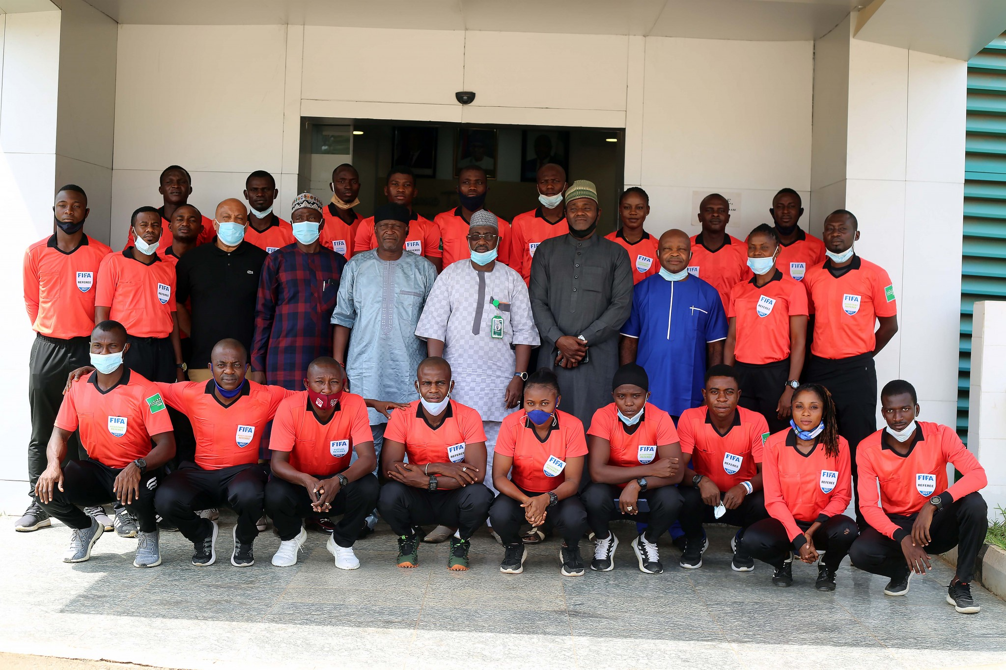 NFF Tells Nigerian FIFA Referees To Be  Mindful of Integrity Clause