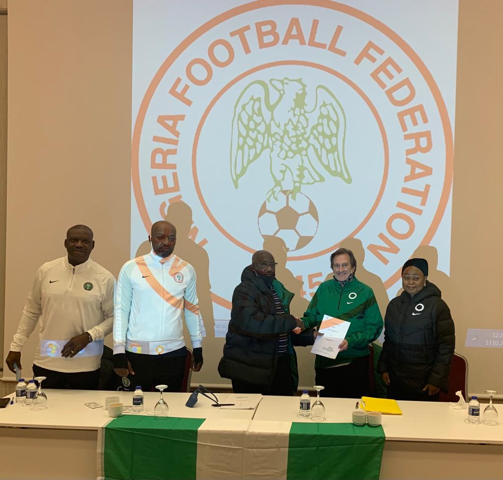 Waldrum signs agreement with NFF, to be officially unveiled in Nigeria