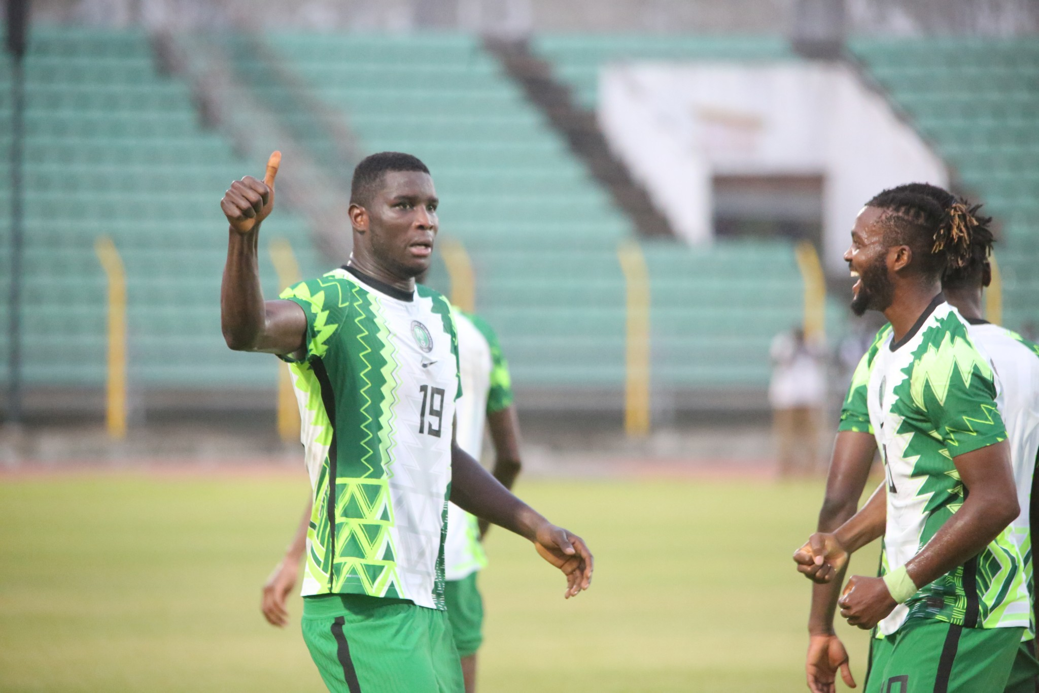 Super Eagles do double over Squirrels, qualify for 2021 AFCON